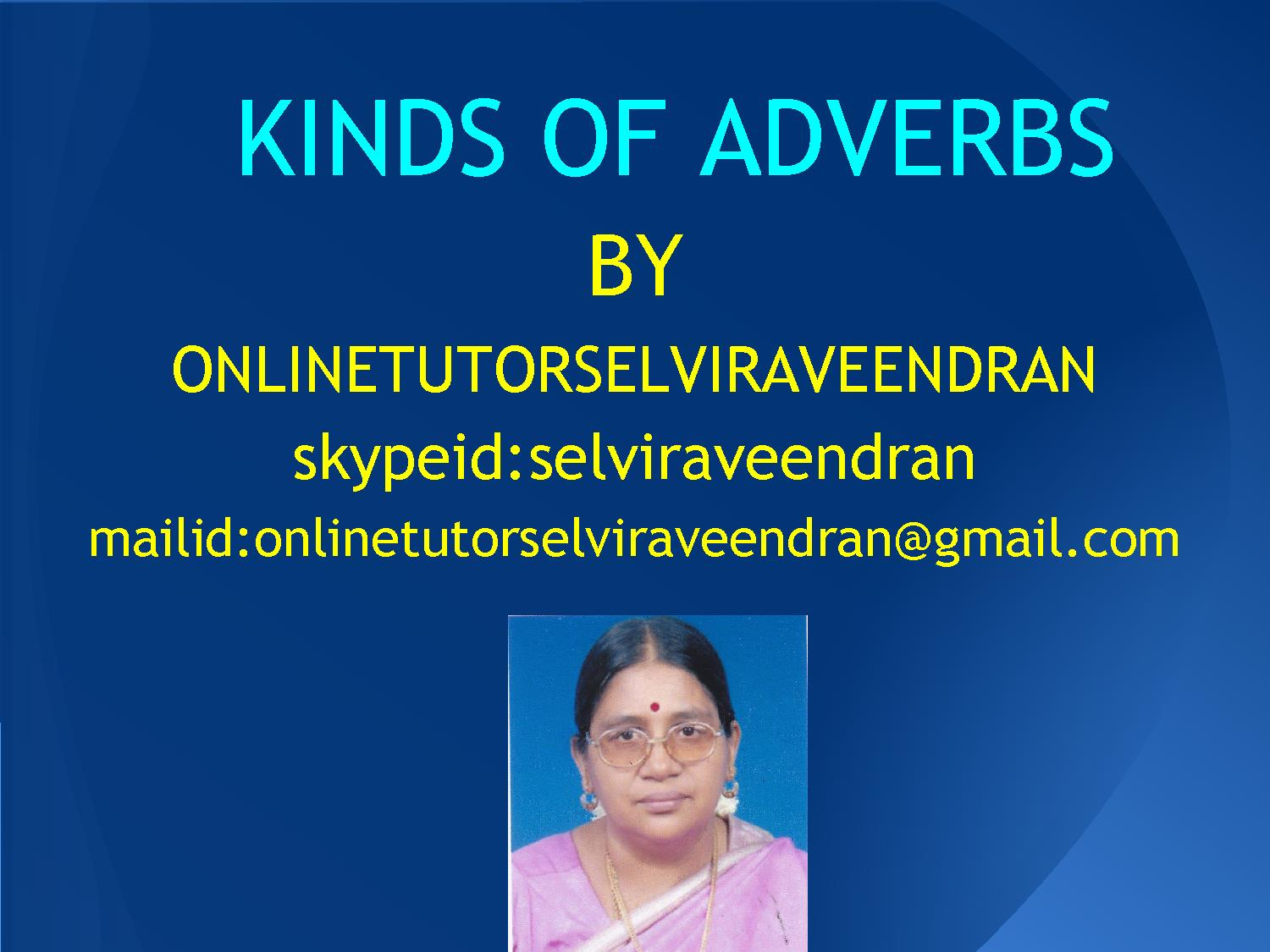 KINDS OF ADVERBS   A VIEW.pdf