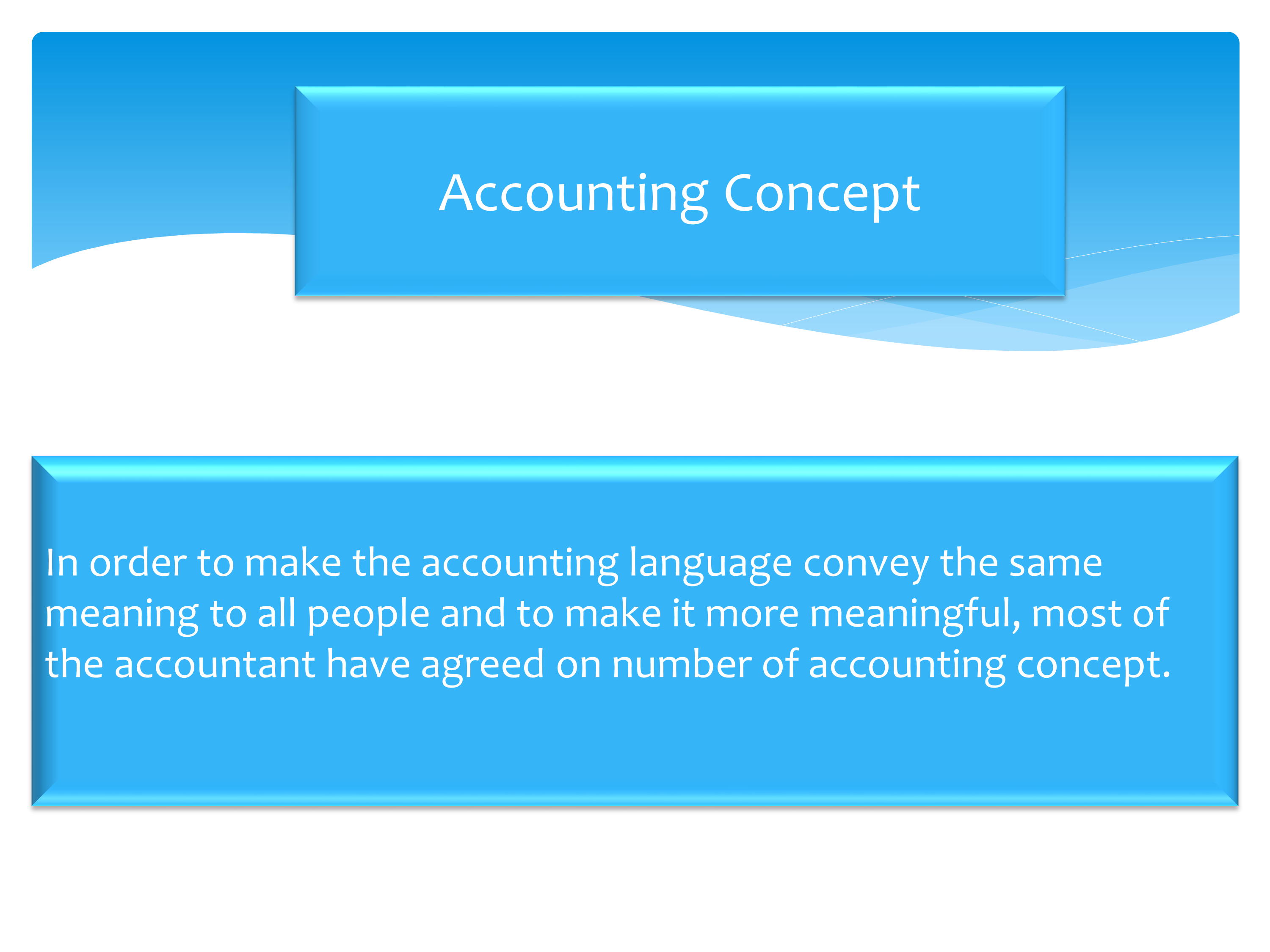 how to understand accounting concepts