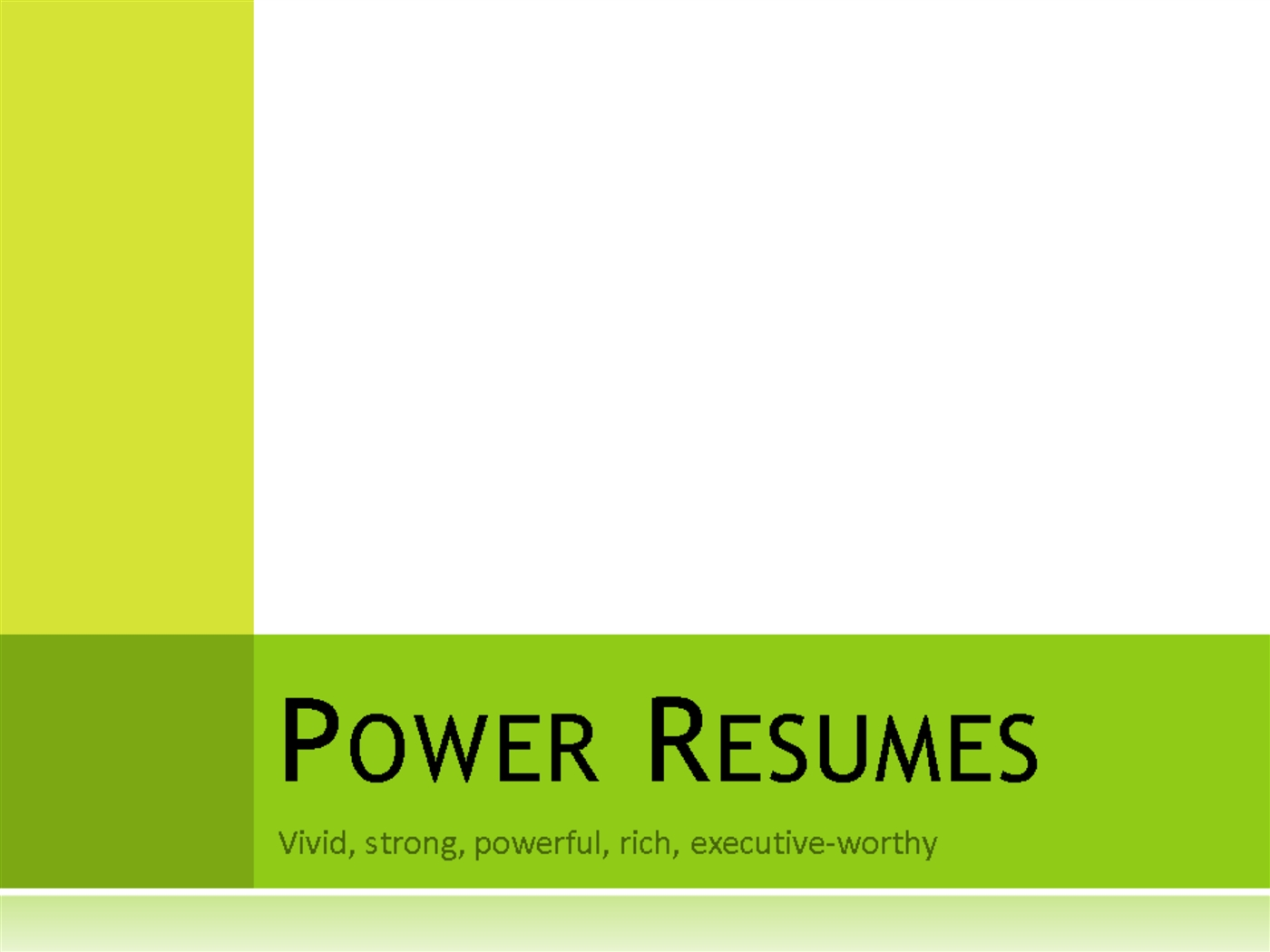 Powerpoint presentation specialist sample resume