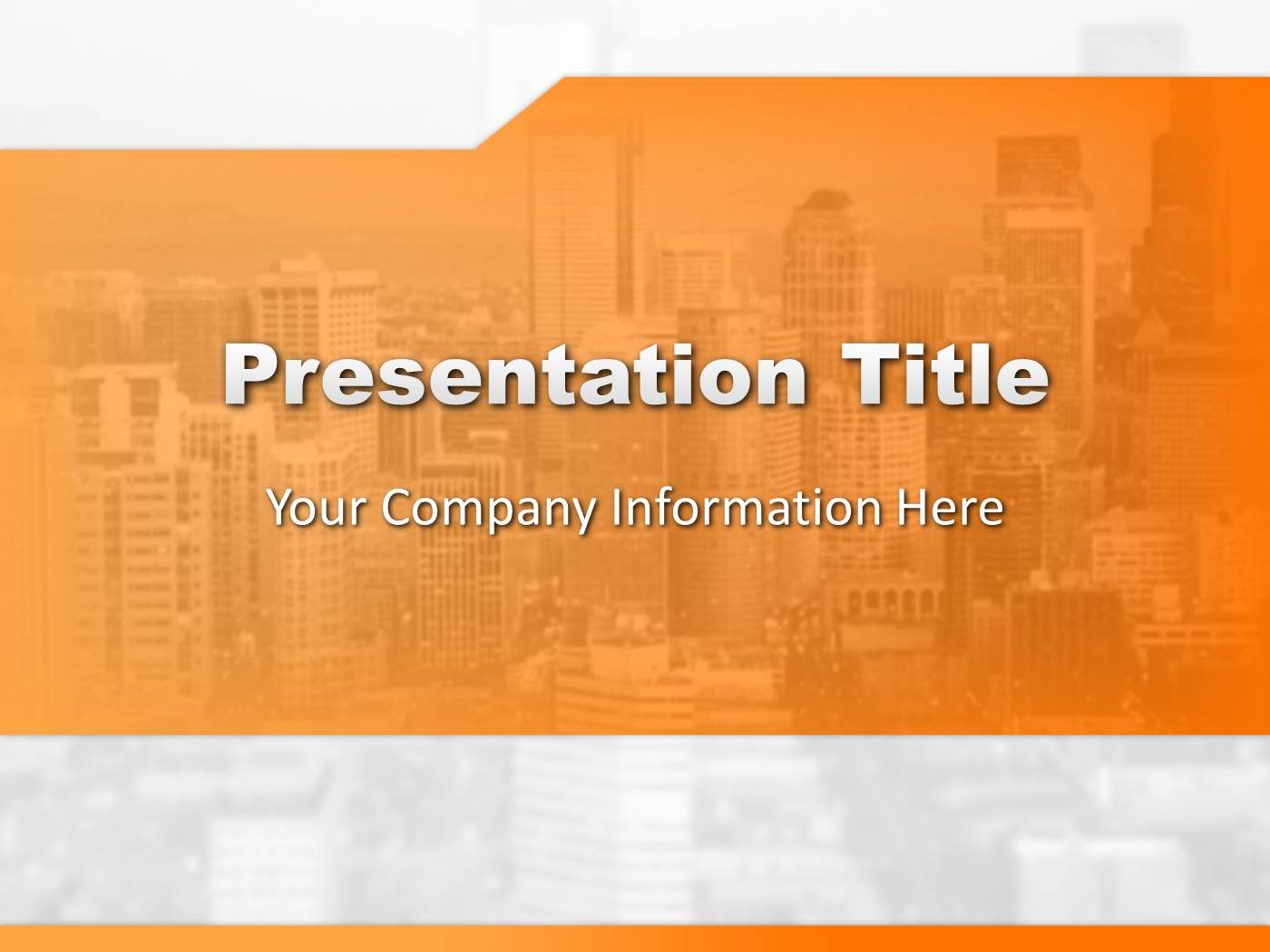 Orange business powerpoint template powerpoint presentation ppt toneelgroepblik Choice Image