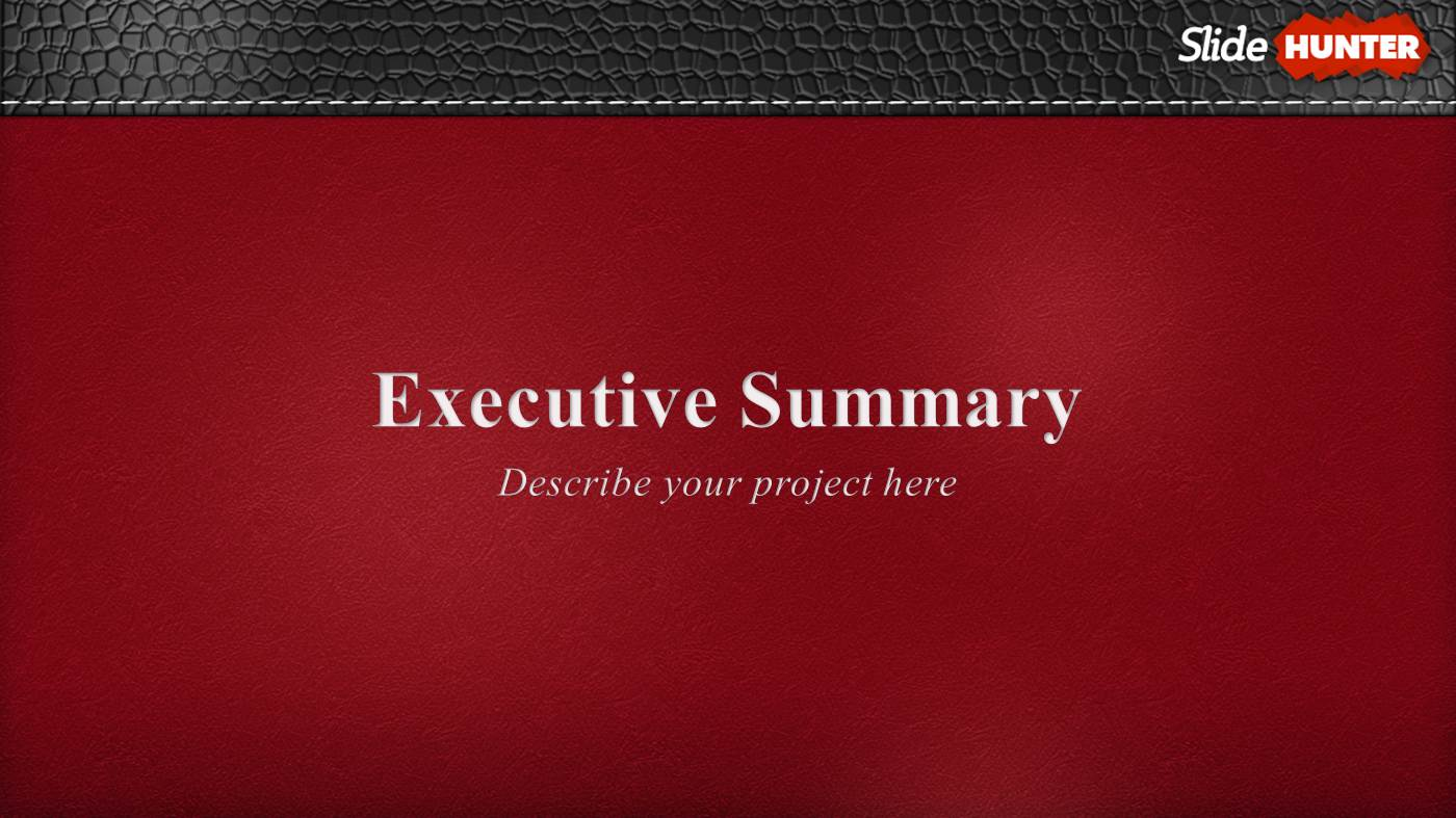 executive summary powerpoint template powerpoint presentation ppt, Presentation templates