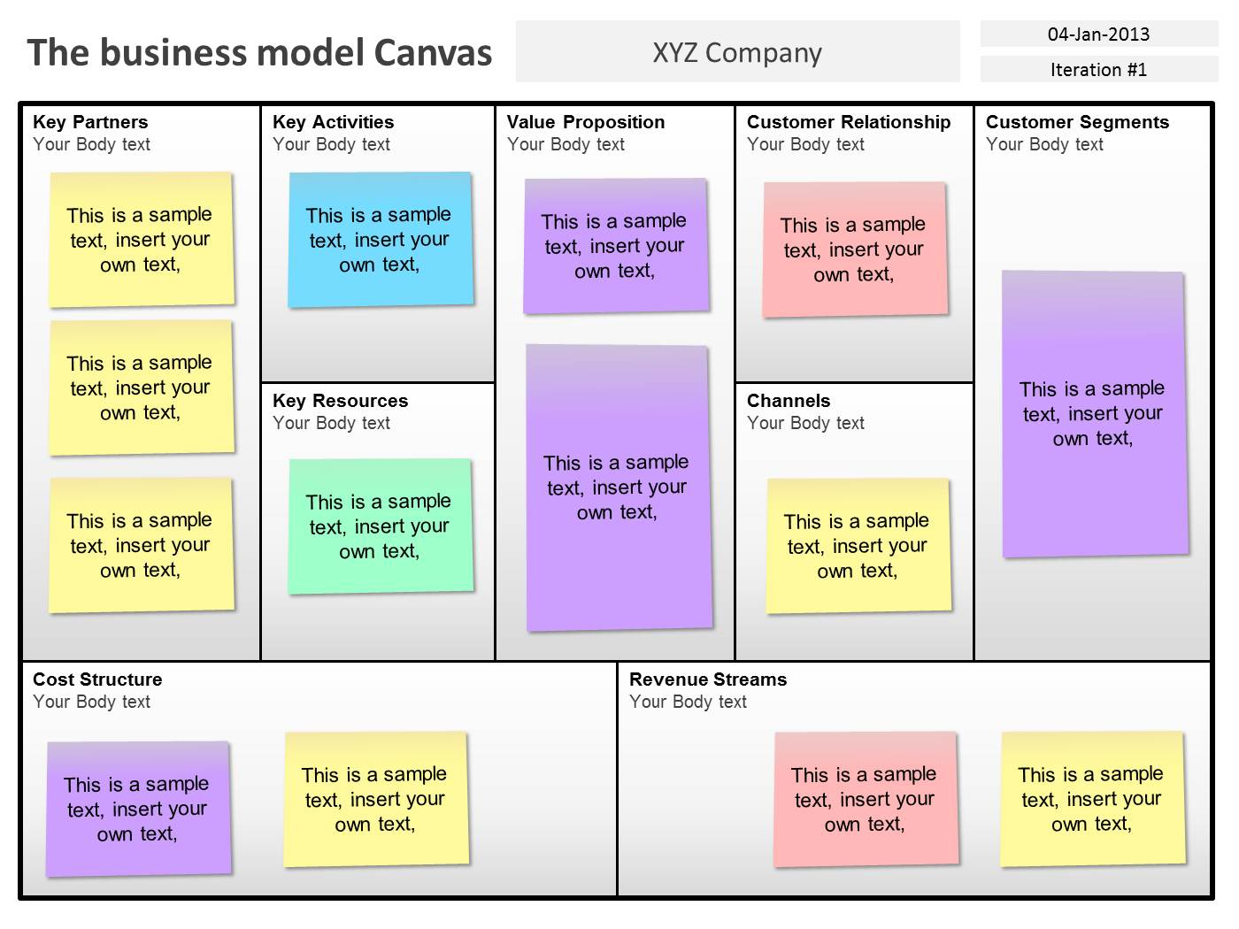 Lean canvas template for powerpoint powerpoint presentation ppt maxwellsz