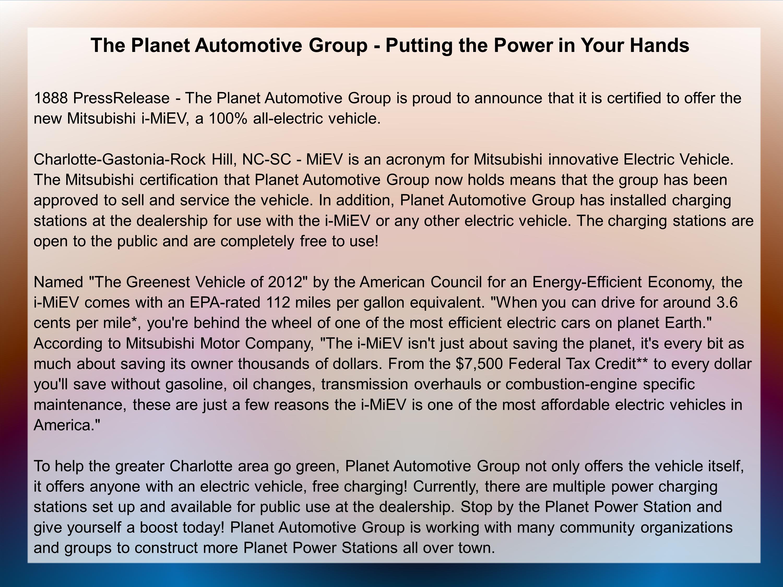 Power Automotive Group 36