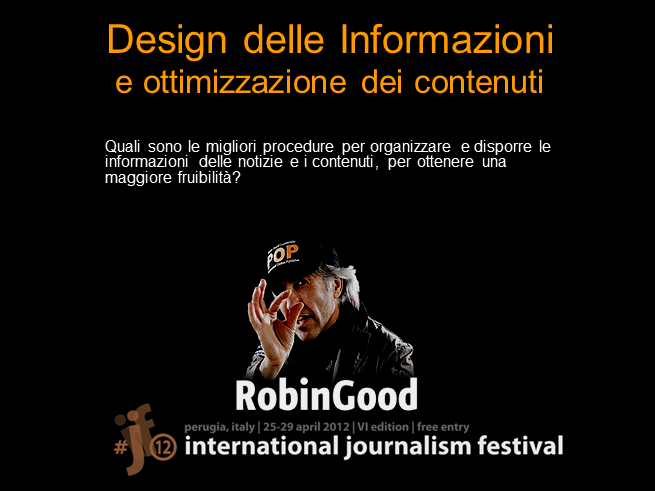 Design delle Informazioni (test slides)