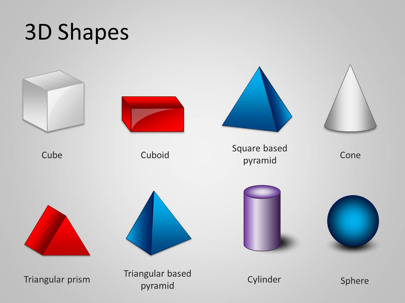 3d shapes template for powerpoint powerpoint presentation ppt alramifo Images