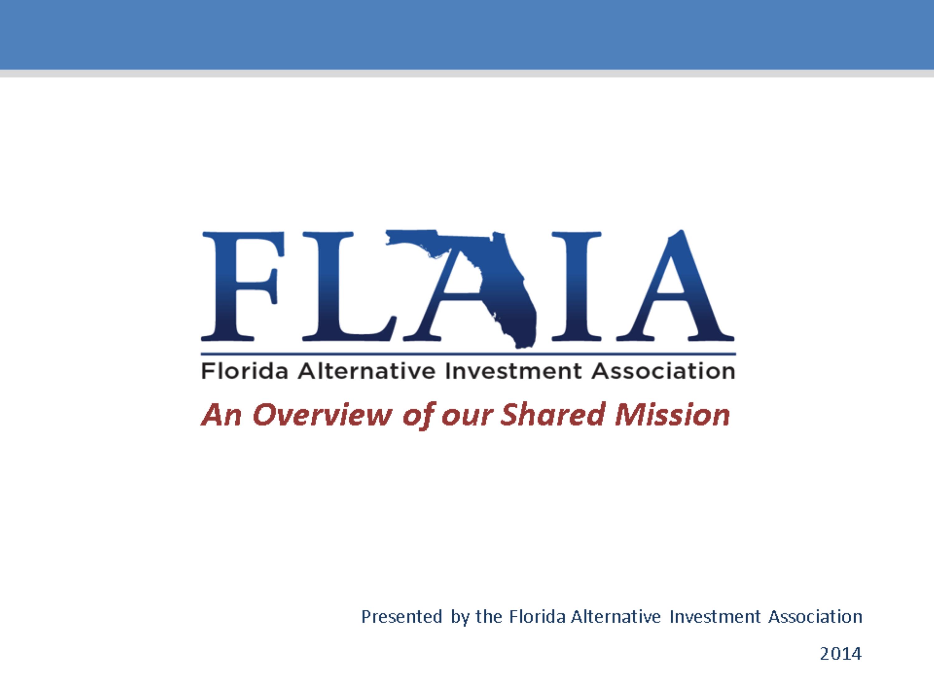 FLAIA Mission and Vision  Final 2014.pptx