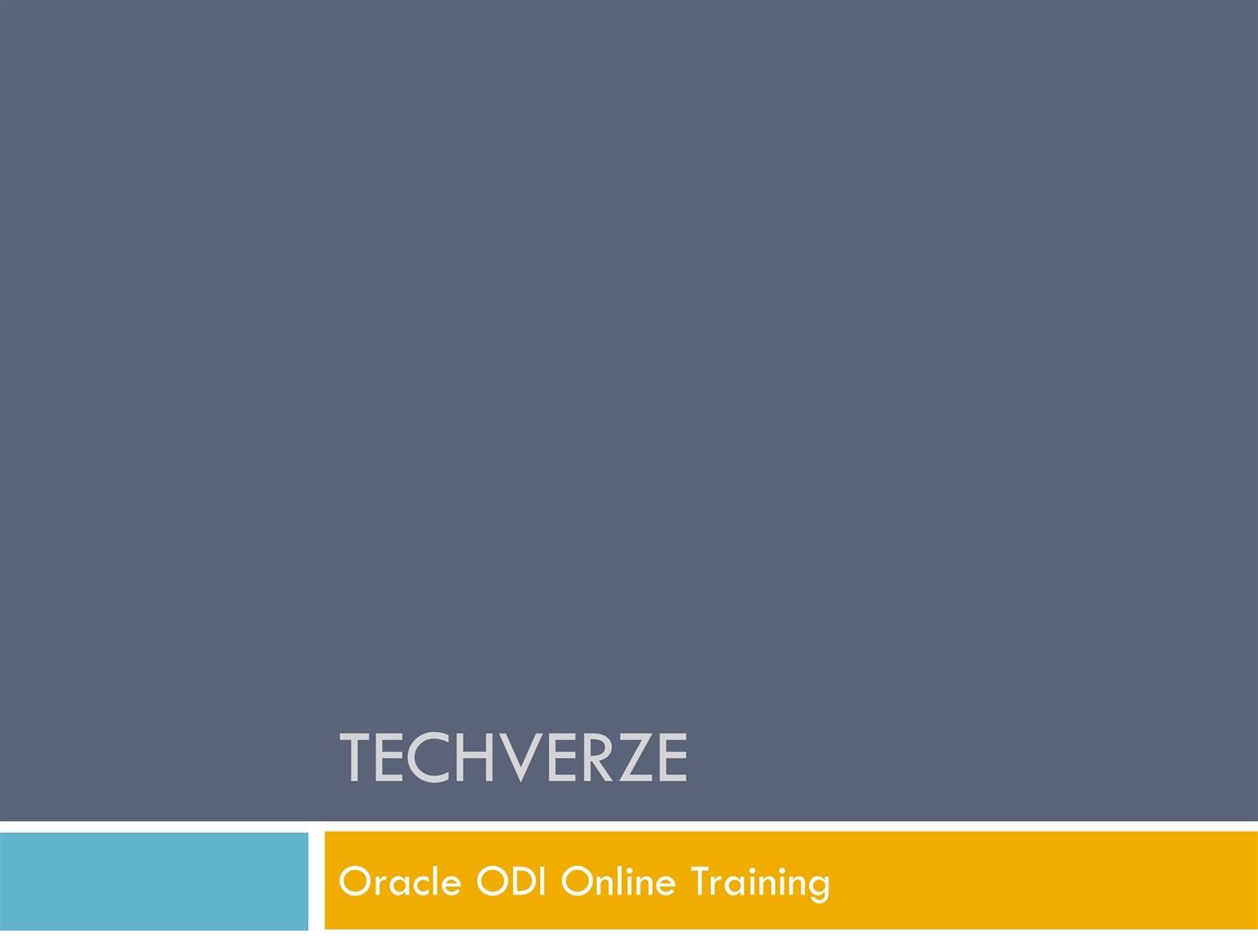 Oracle odi online trainingpptx powerpoint presentation ppt baditri Gallery