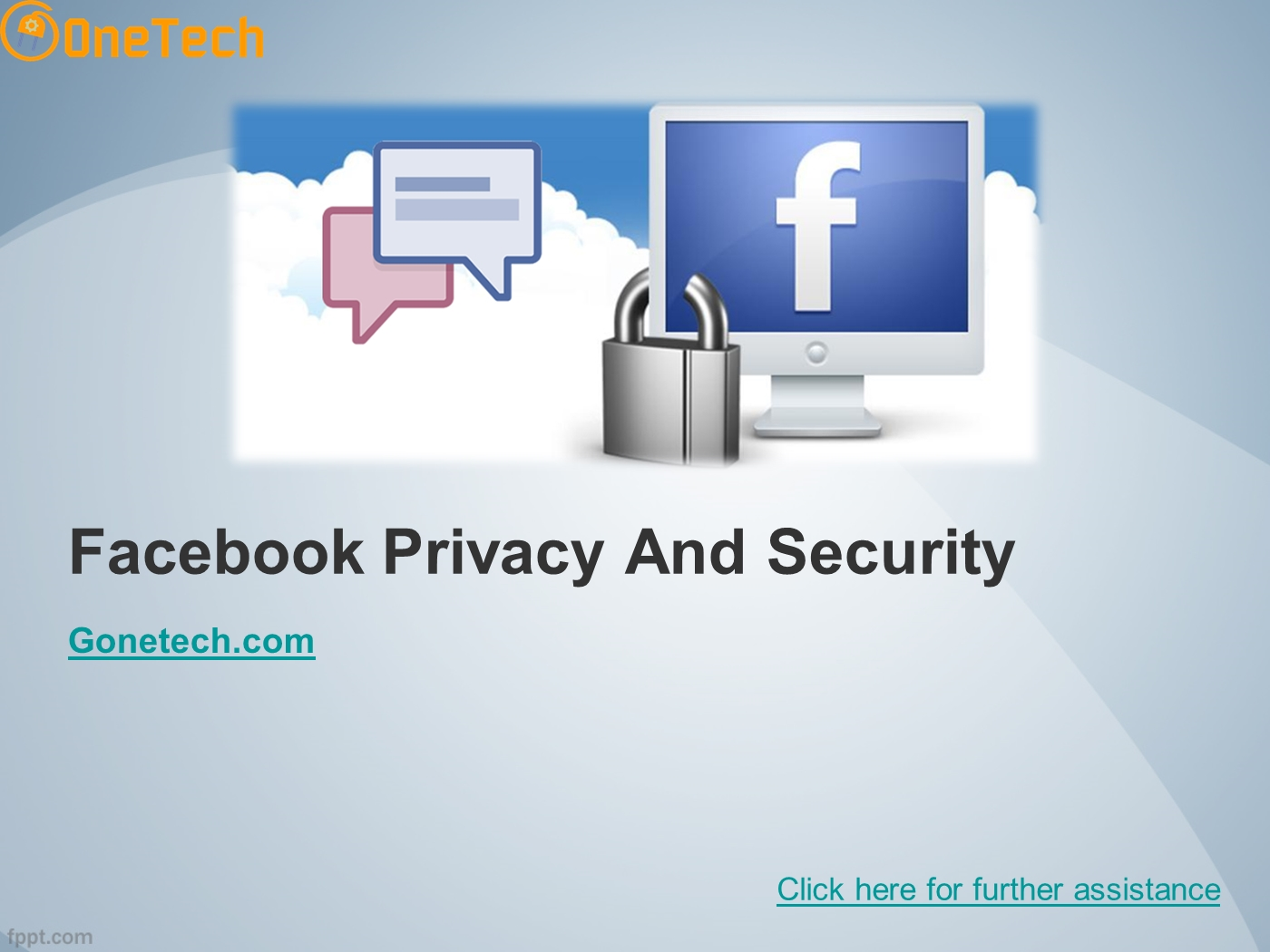 Template microsoft powerpoint facebook ppt social networking.