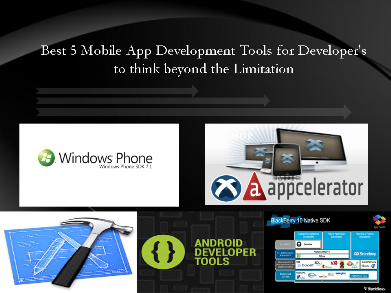 mobile app development free tools
