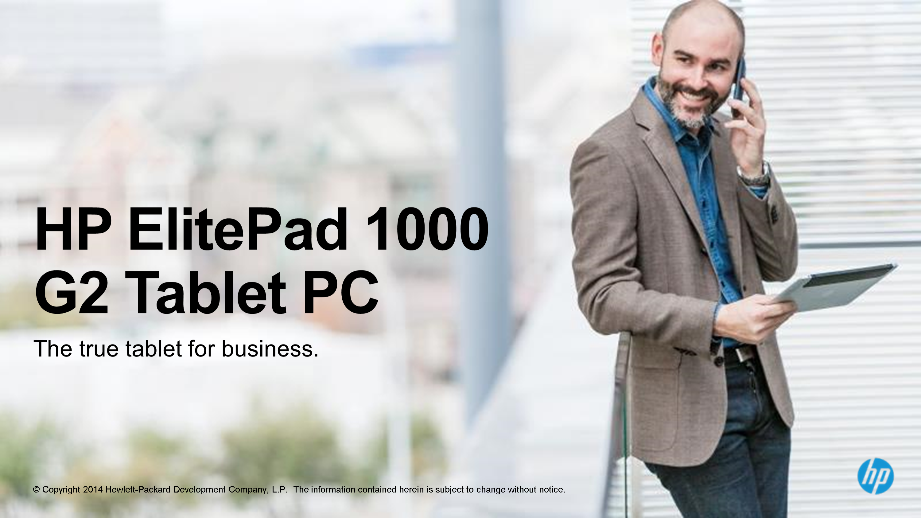 Lone Wolf System - Top Performance at the right price HP ElitePad 1000