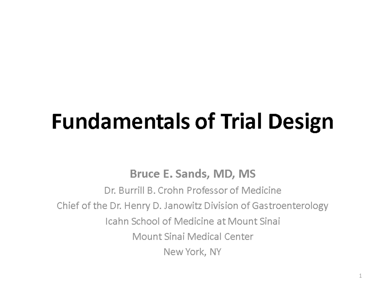 Fundamentals of Trial Design. Sands.pptx