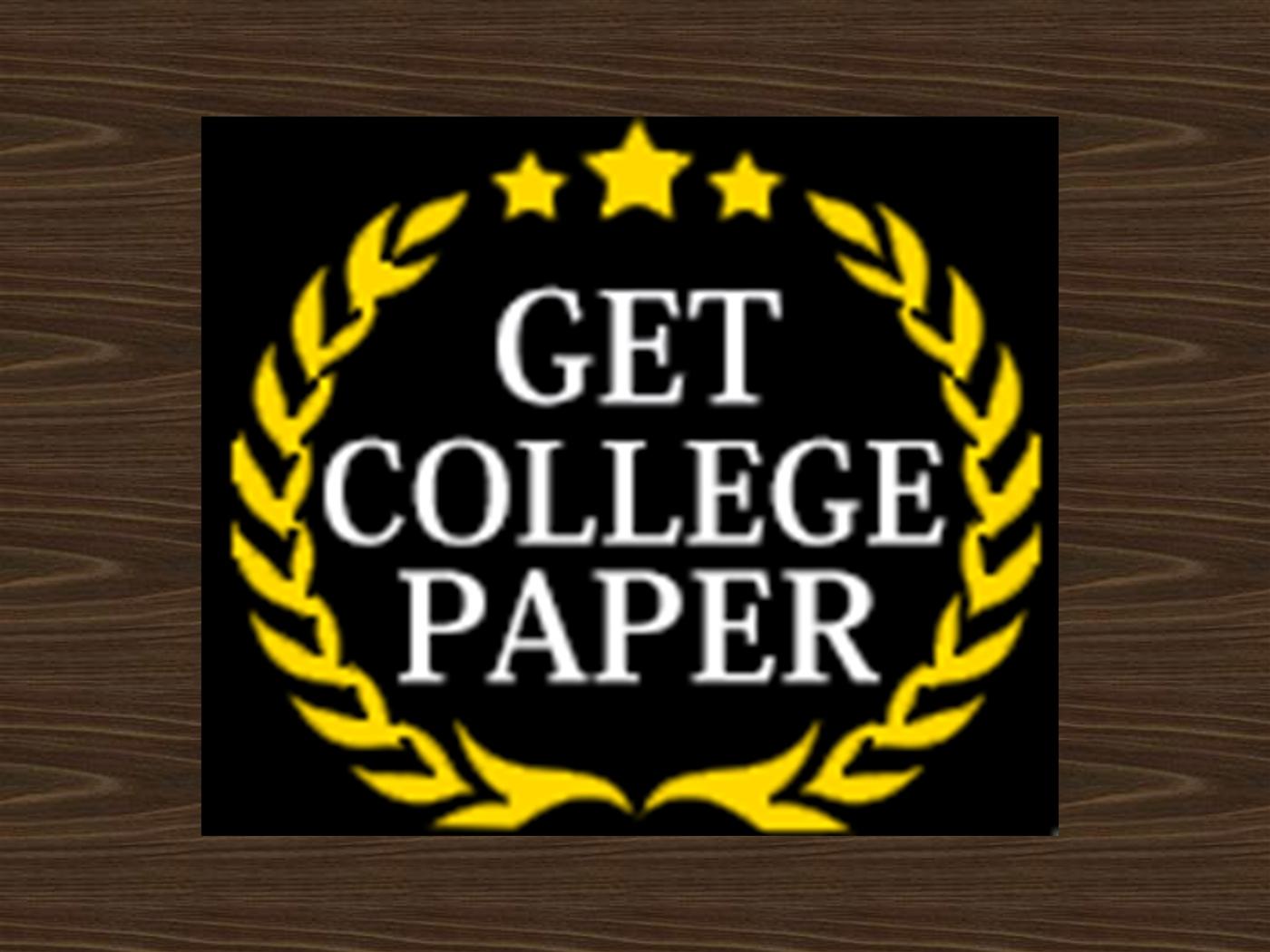 get college papers online