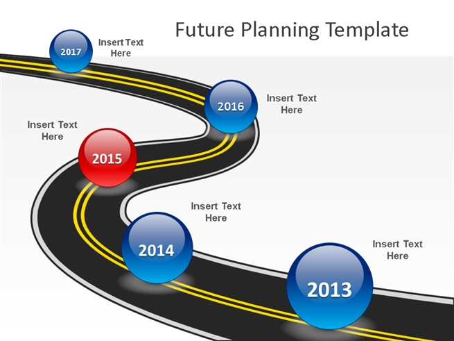 future planning powerpoint template powerpoint