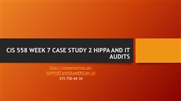 acct540 week 7 case study Acct 540 devry course project all week downloading is very simple, you can download this course here:.