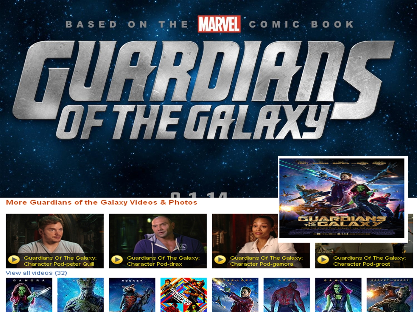 Guardians of the galaxy 2014pptx powerpoint presentation ppt toneelgroepblik Image collections