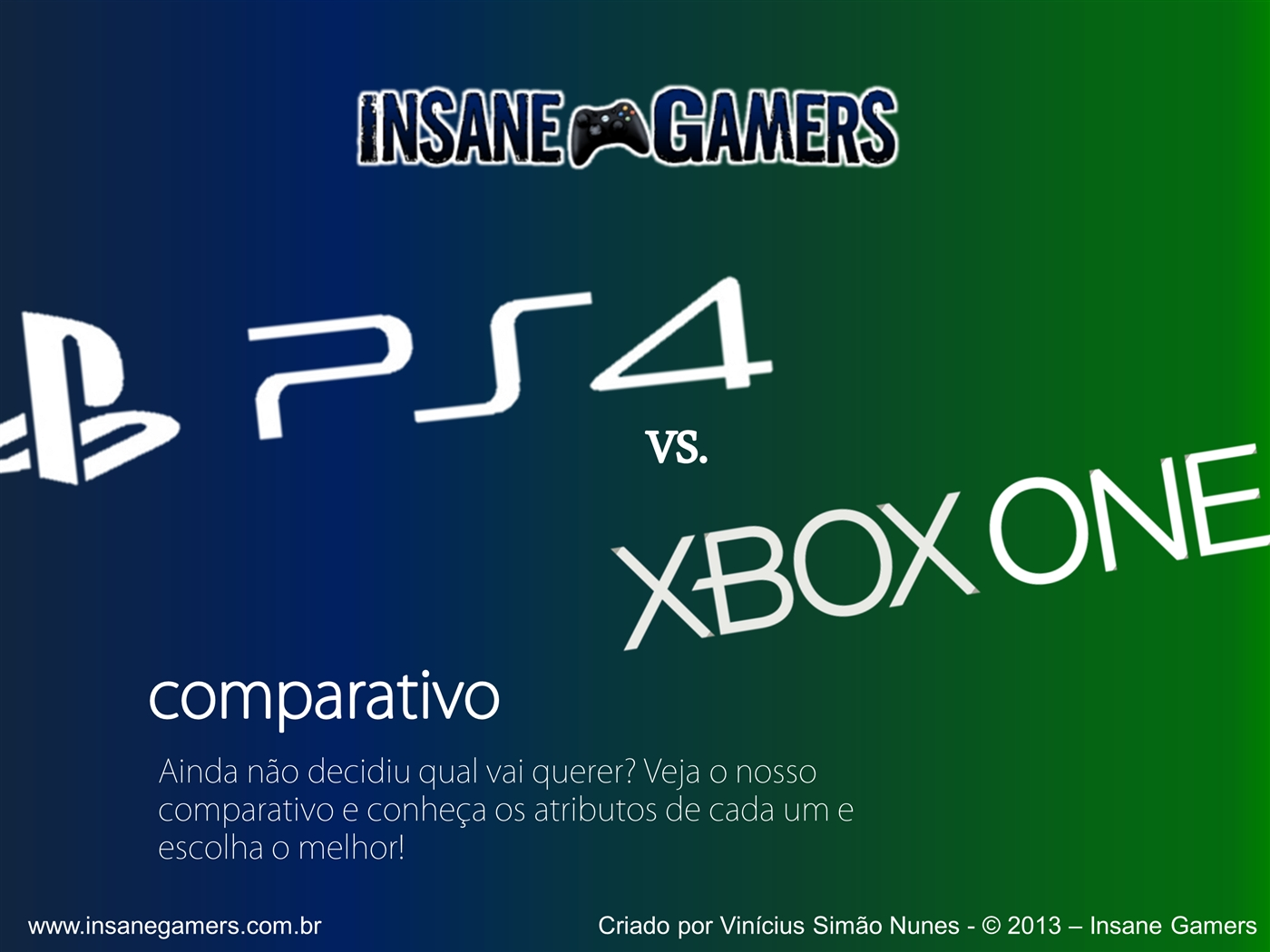 Powerpoint presentation on ps4 infogrfico comparativo xbox one vs playstation4ppt toneelgroepblik Choice Image