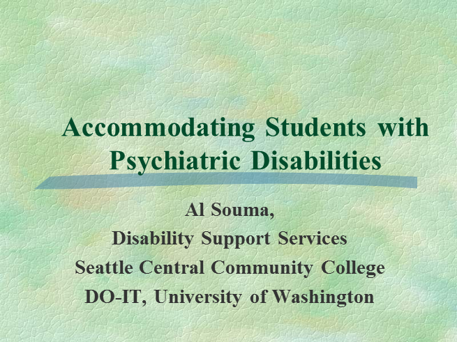 accommodating students with writing disabilities There is a range of inclusive teaching strategies that can assist all to accommodate students with a disability, but rather are required to.