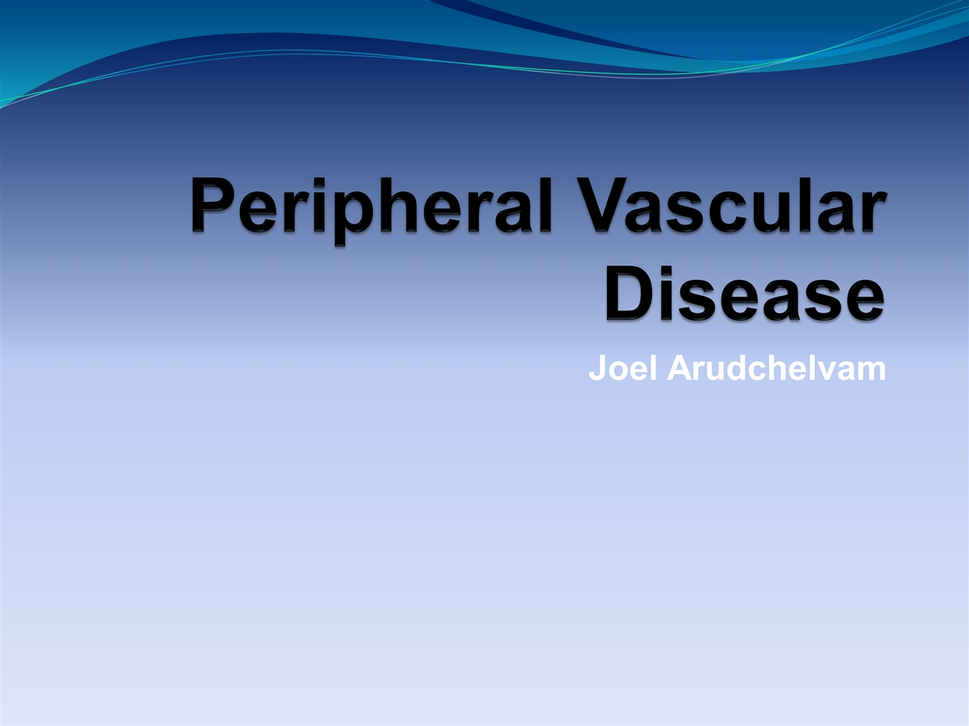 Peripheral vascular disease ppt video online download.