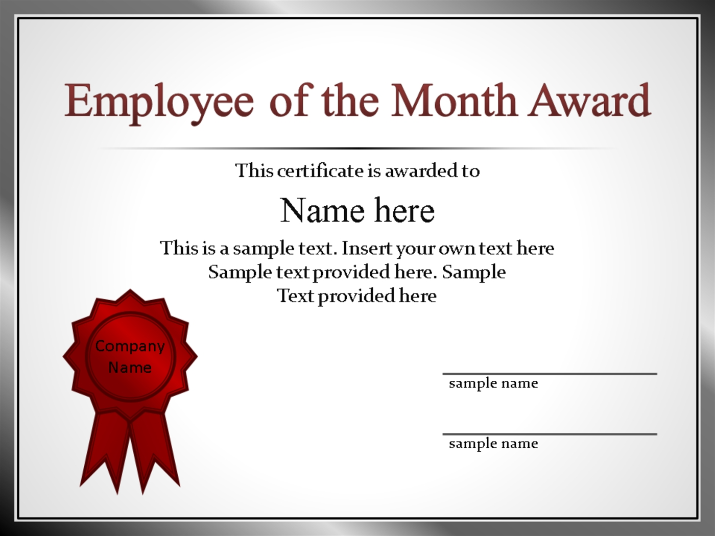53 employee recognition template powerpoint pptx powerpoint