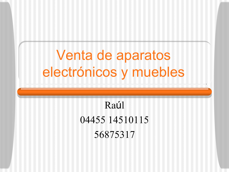 Venta de powerpoint presentation ppt - Venta de muebles on line ...