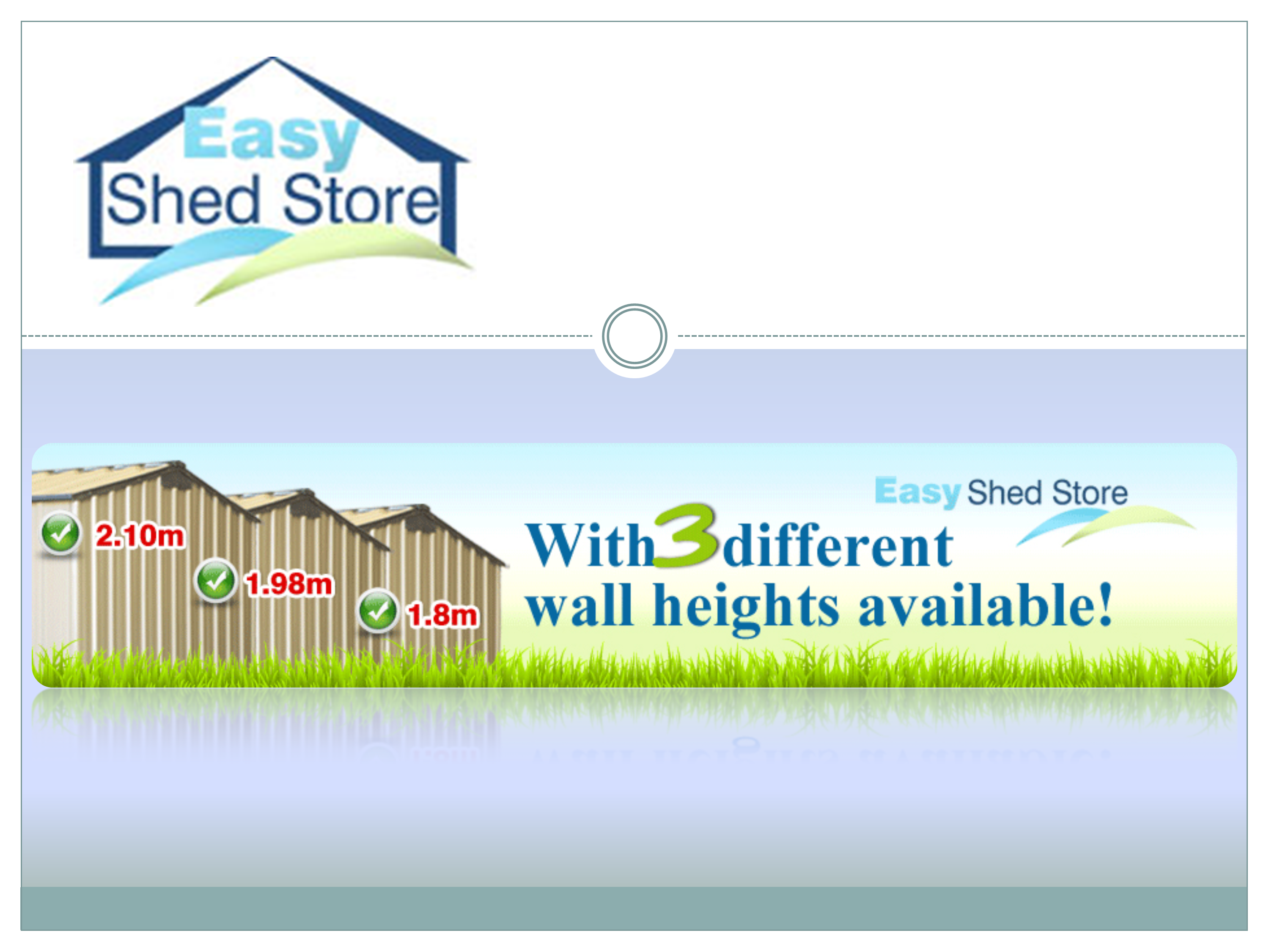 Easy shed store garden or powerpoint for Simply sheds online