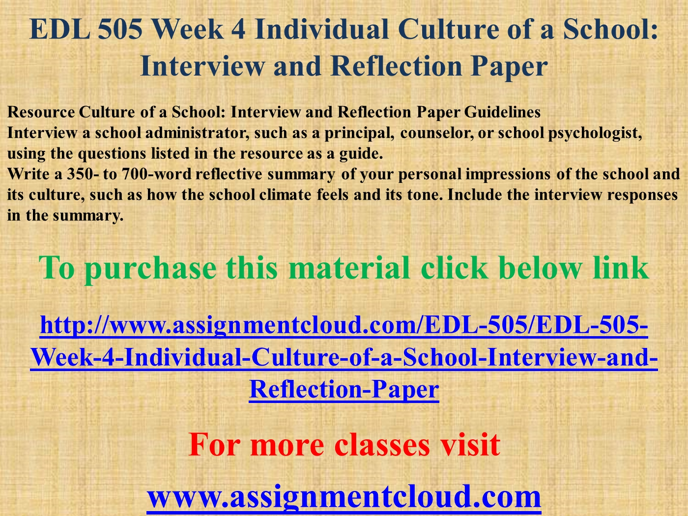 how to write a reflection paper on an interview