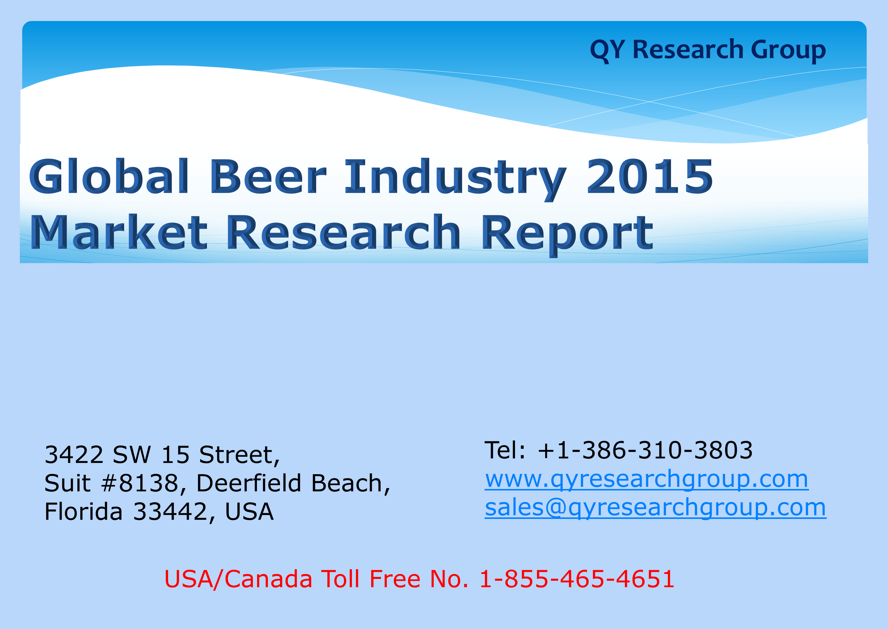beer industry analysis The craft beer industry is quickly becoming more popular than any other alcohol  segment a typical craft brewer produces less than 2 million barrels annually,.