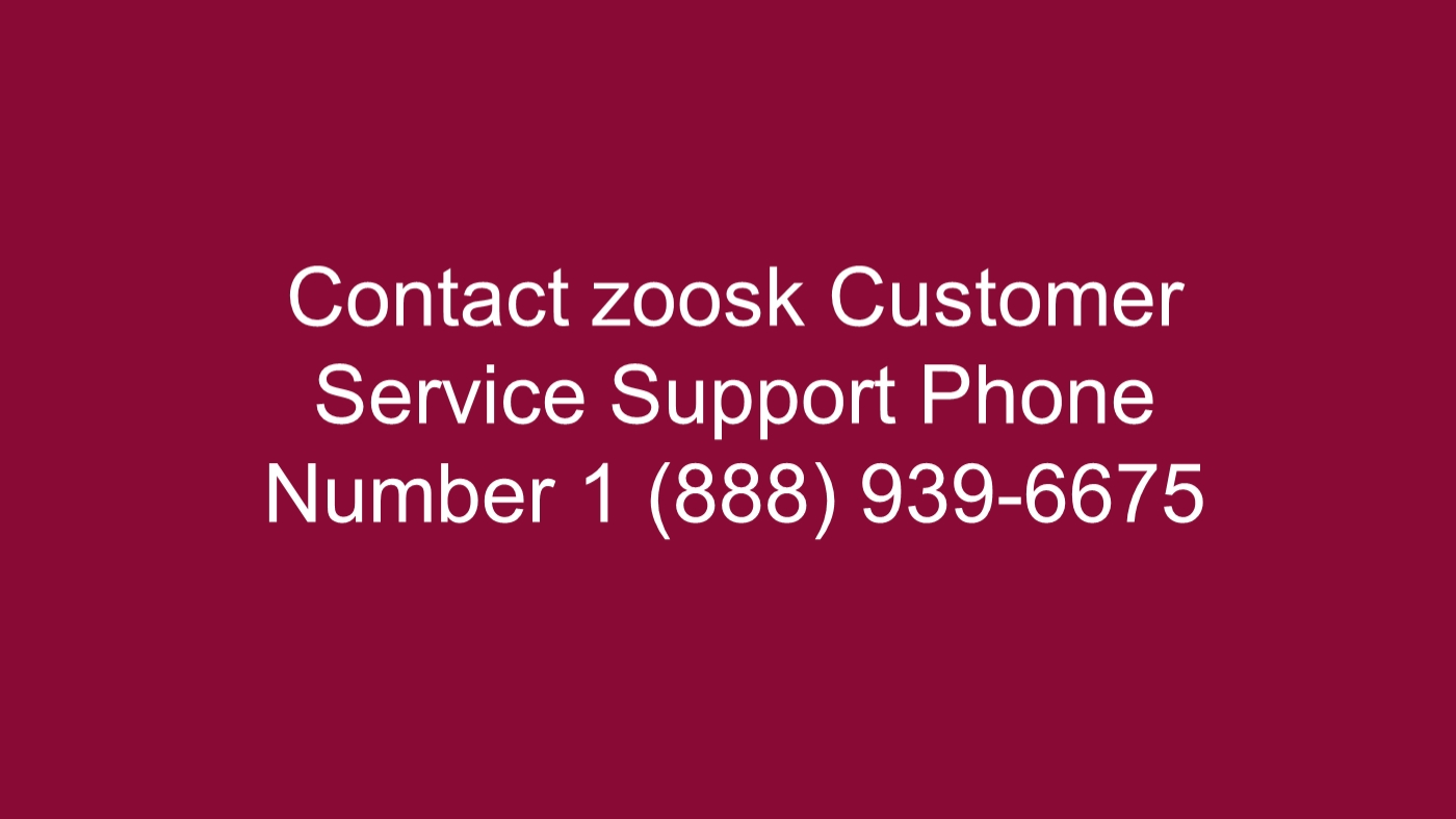 Zoosk customer service contact number