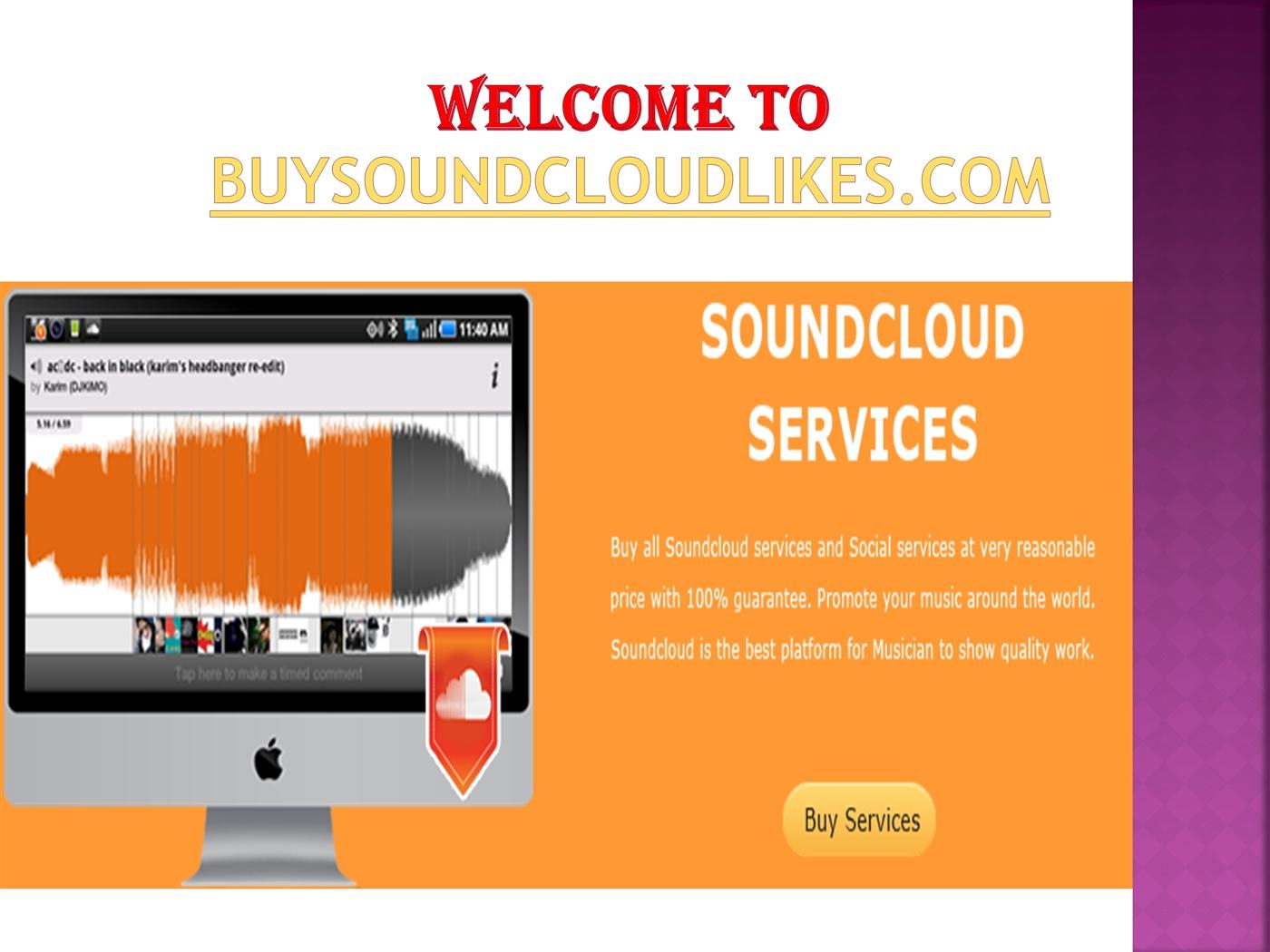 Buy Cheap SoundCloud Likes PowerPoint Presentation PPT