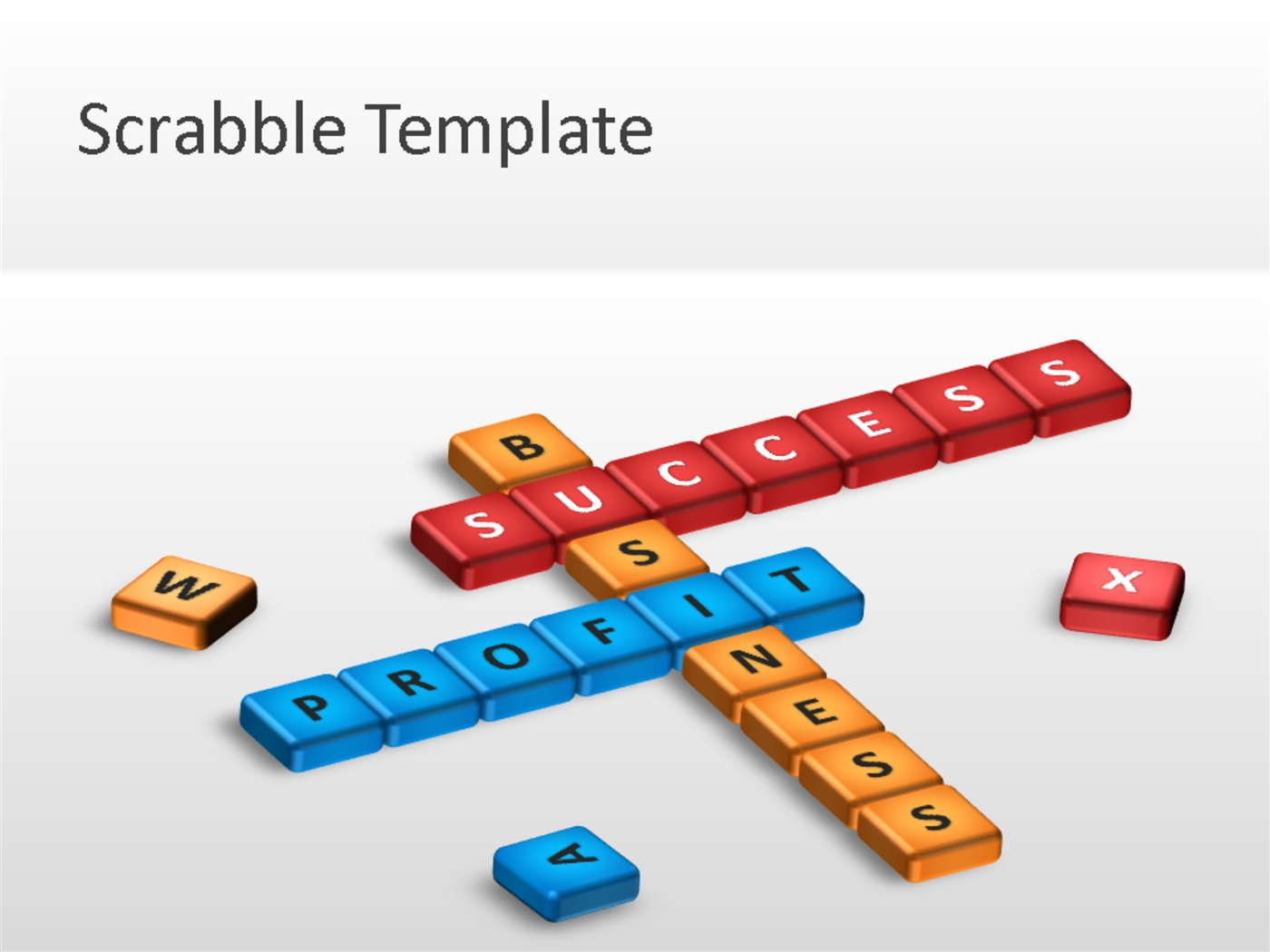 Scrabble powerpoint template powerpoint presentation ppt.