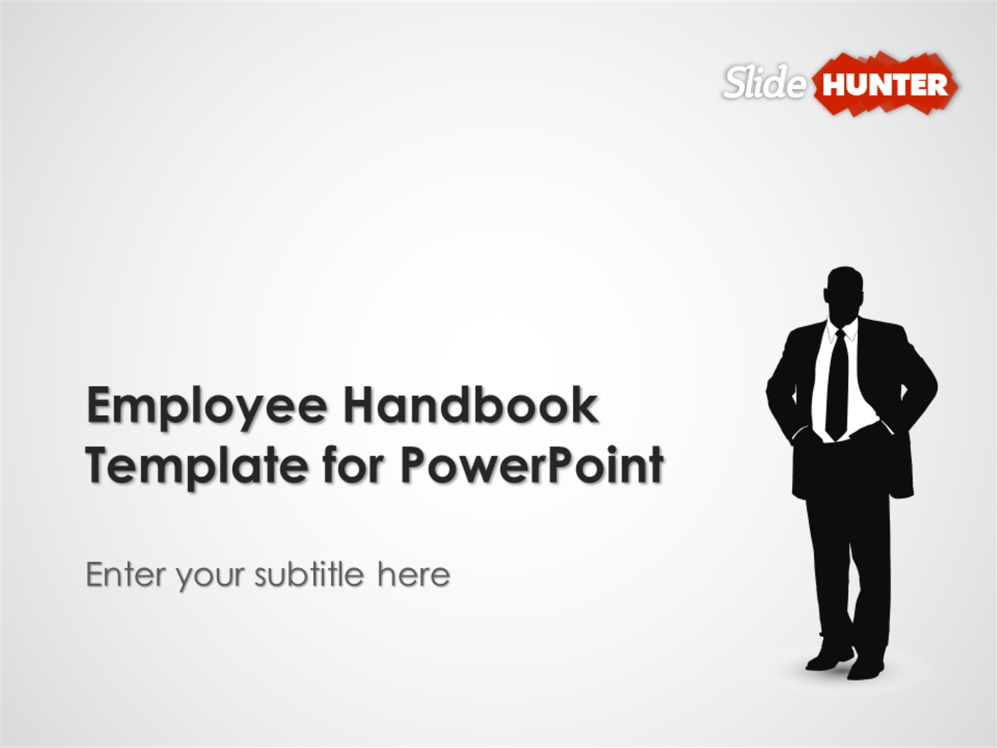 employee handbook template for powerpoint powerpoint presentation ppt