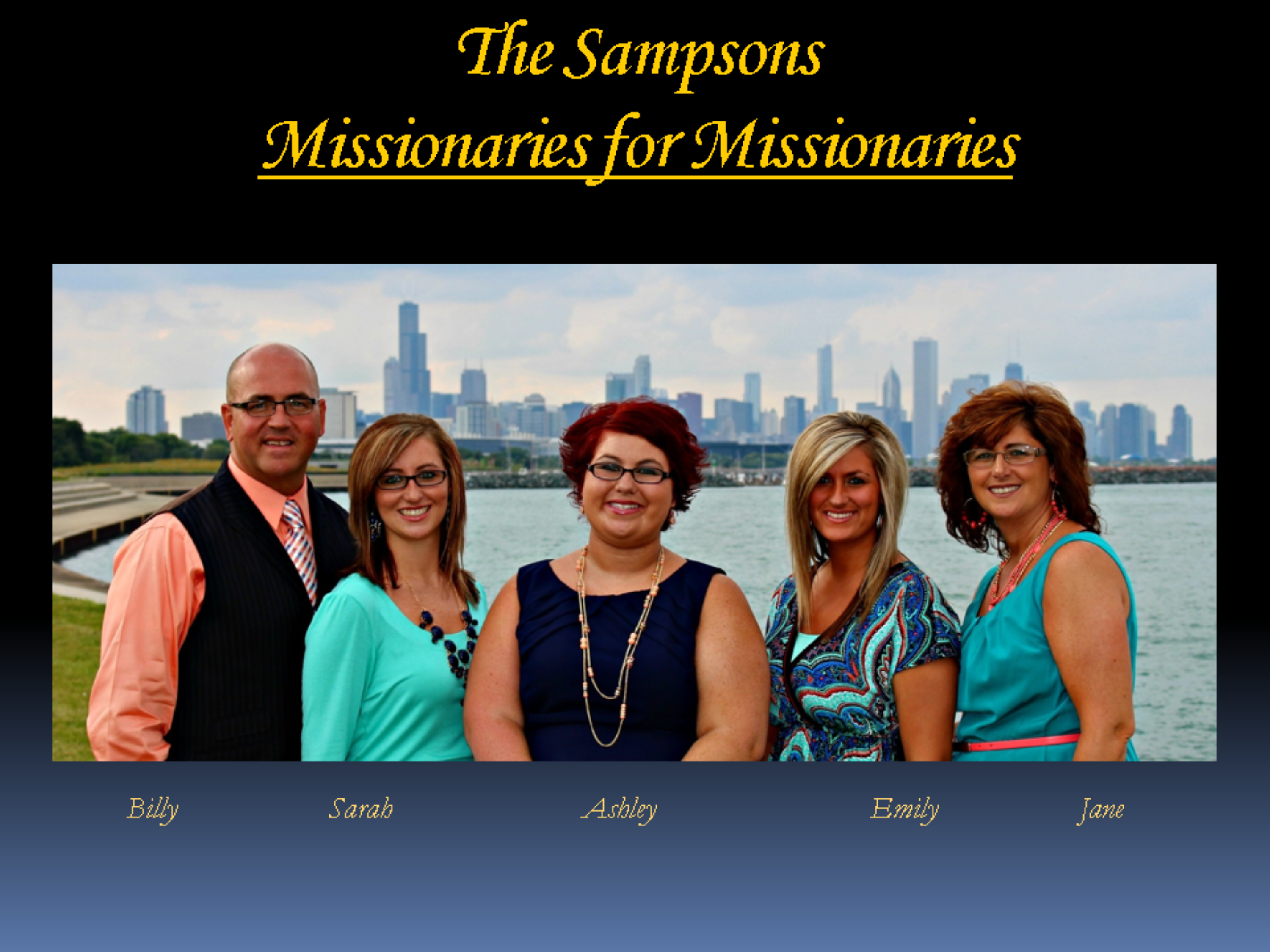 The Sampsons Power Point for about us page.ppt